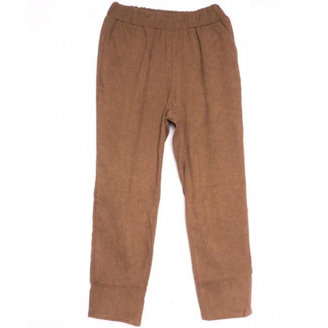 0230-44 коричневые Exclusive брюки женские весенние стрейчевые (42-48, 4 ед.) Exclusive: артикул 1106276