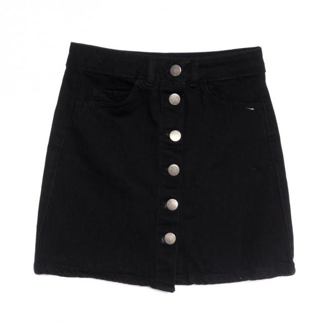 1798 черная Defile юбка джинсовая весенняя коттоновая (34-42,евро, 6 ед.) Defile: артикул 1107117