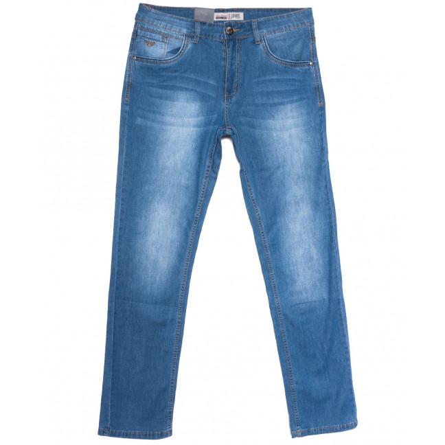 1089 LS джинсы мужские полубатальные синие весенние стрейчевые (32-38, 8 ед.) LS: артикул 1106232