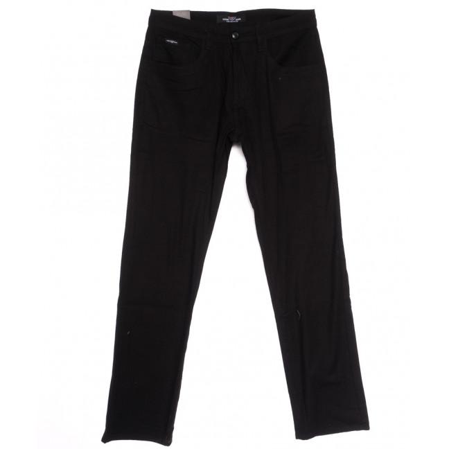 7012-D Vitions джинсы мужские полубатальные черные весенние стрейчевые (32-42, 8 ед.) Vitions: артикул 1106398