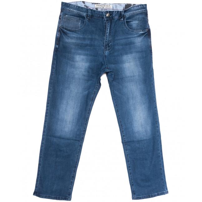 3013 Fangsida джинсы мужские батальные синие весенние стрейчевые (36-48, 8 ед.) Fangsida: артикул 1106207