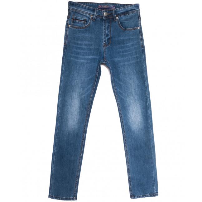 0643-А Likgass джинсы мужские молодежные синие весенние стрейчевые (28-36, 8 ед.) Likgass: артикул 1106618