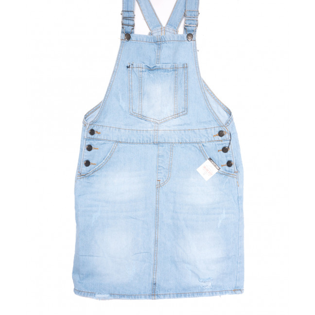 3305-5 Y Relucky сарафан джинсовый синий весенний стрейчевый (25-30, 6 ед.) Relucky: артикул 1106549