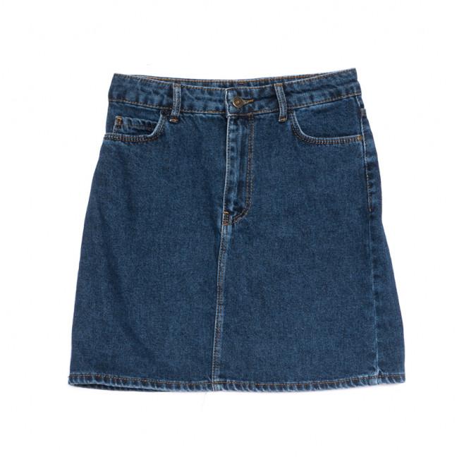 6010-2 Real Focus юбка джинсовая синяя весенняя коттоновая (26-30, 5 ед.) Real Focus: артикул 1107133