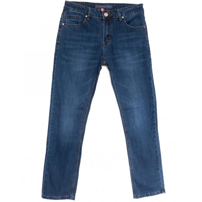 0647-В Likgass джинсы мужские полубатальные синие весенние стрейчевые (32-38, 8 ед.) Likgass: артикул 1106590