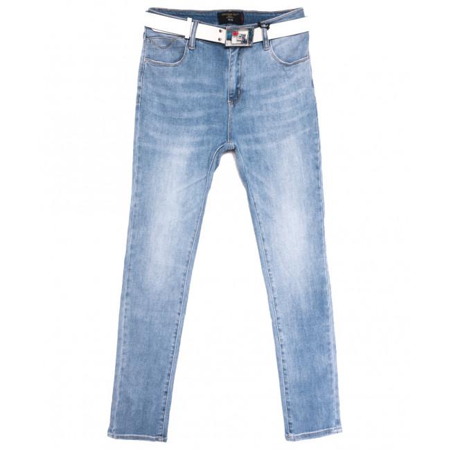 9645 Dimarkis Day джинсы женские полубатальные синие весенние стрейчевые (29-34, 6 ед.) Dimarkis Day: артикул 1106164