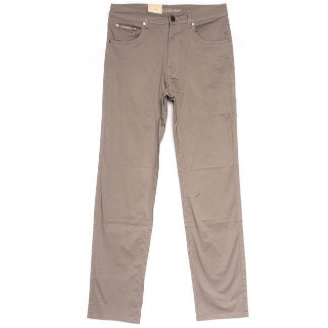 9002-В LS джинсы мужские полубатальные бежевые весенние стрейчевые (32-40, 8 ед.) LS: артикул 1106340