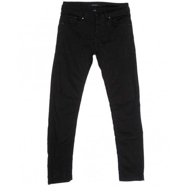 5216 Jack Kevin джинсы мужские черные весенние стрейчевые (29-38, 8 ед.) Jack Kevin: артикул 1105863