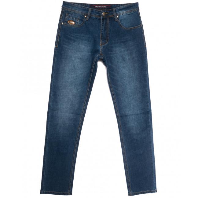0584-77-В Likgass джинсы мужские синие весенние стрейчевые (30-38, 8 ед.) Likgass: артикул 1106612