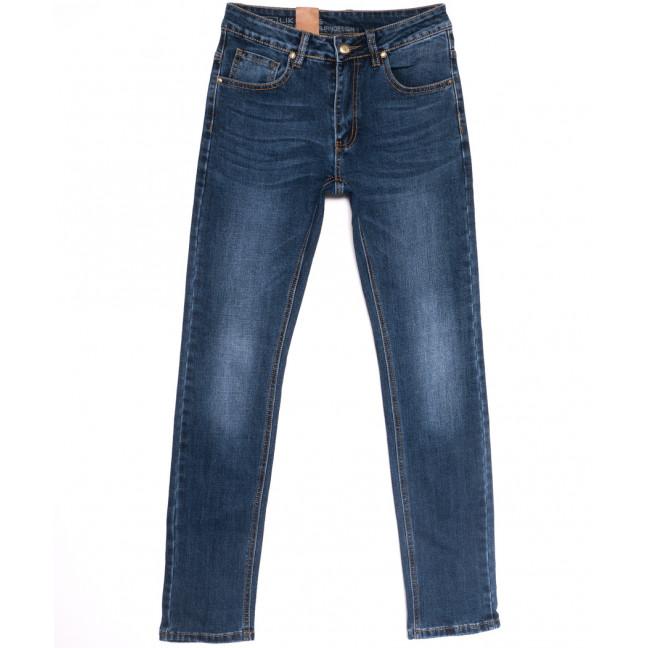 0742 Likgass джинсы мужские молодежные синие весенние стрейчевые (28-36, 8 ед.) Likgass: артикул 1106605