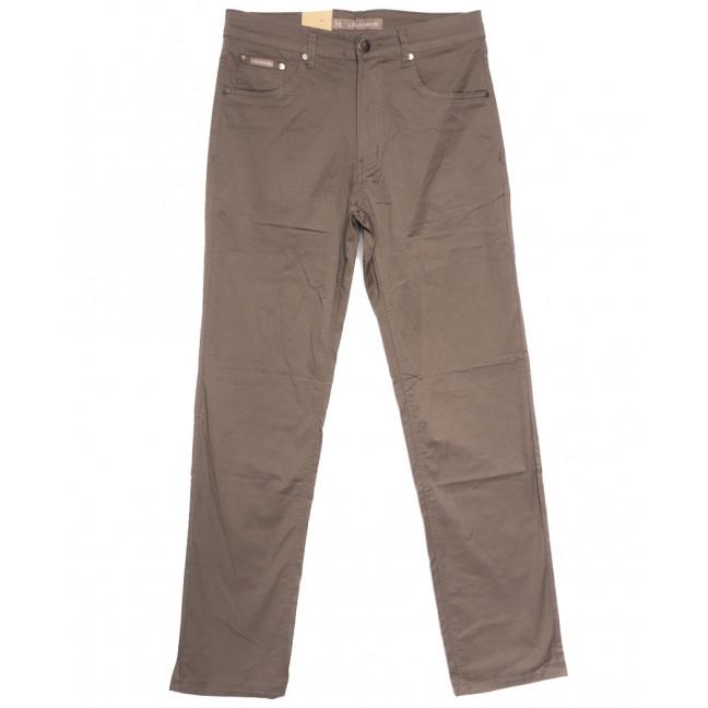 9016-B LS джинсы мужские полубатальные бежевые весенние стрейчевые (32-40, 8 ед.) LS: артикул 1106408
