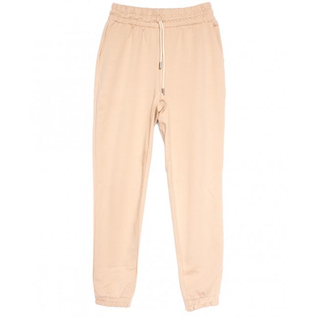 0228-44 бежевые Exclusive брюки женские спортивные весенние стрейчевые (42-48, 4 ед.) Exclusive: артикул 1106273