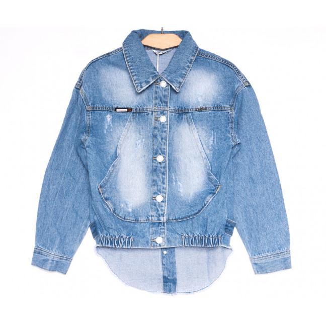 9936 Zijinyan куртка джинсовая женская синяя весенняя стрейчевая (S-XXXL, 6 ед.) Zijinyan: артикул 1106378