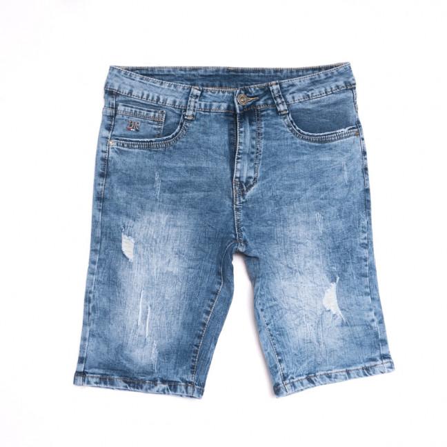 2072 New Jeans шорты джинсовые мужские синие стрейчевые (29-38, 8 ед.) New Jeans: артикул 1107060