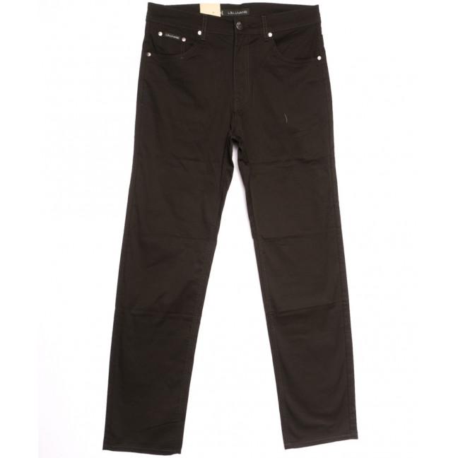 9022-D LS джинсы мужские батальные коричневые весенние стрейчевые (34-44, 8 ед.) LS: артикул 1106409