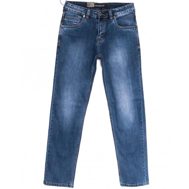 59973-1 Moshrck джинсы мужские полубатальные синие весенние стрейчевые (32-38, 8 ед.) Moshrck: артикул 1106597