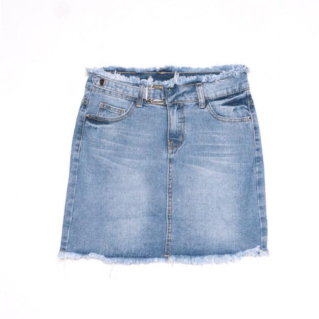 3726 New Jeans юбка джинсовая синяя весенняя коттоновая (25-30, 6 ед.) New Jeans: артикул 1106987