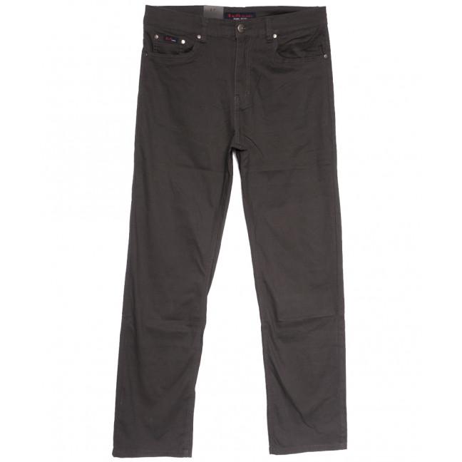 3031-D LS джинсы мужские батальные коричневые весенние стрейчевые (34-44, 8 ед.) LS: артикул 1106258