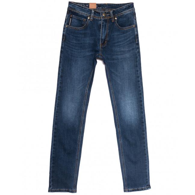 0741 Likgass джинсы мужские молодежные синие весенние стрейчевые (28-36, 8 ед.) Likgass: артикул 1106602