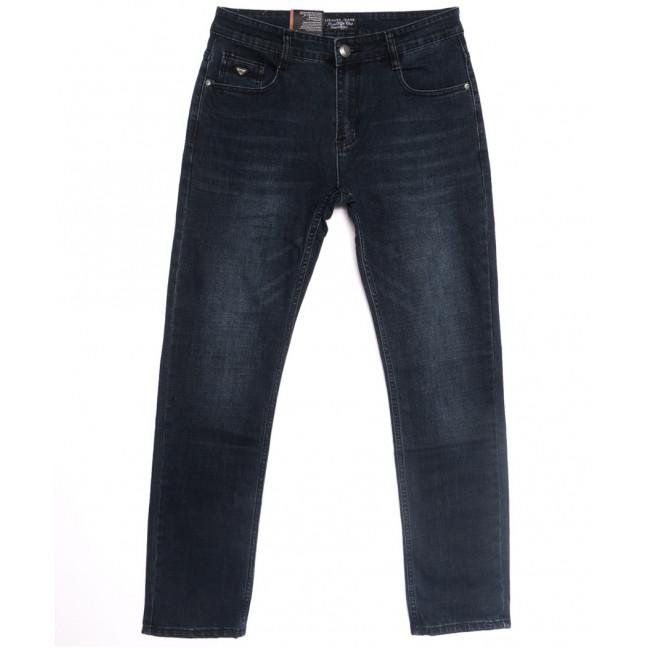 0642-В Likgass джинсы мужские полубатальные темно-синие весенние стрейчевые (32-38, 8 ед.) Likgass: артикул 1106628