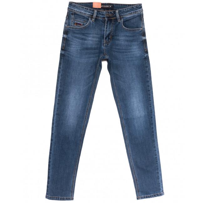 59930 Moshrck джинсы мужские молодежные синие весенние стрейчевые (28-36, 8 ед.) Moshrck: артикул 1106600