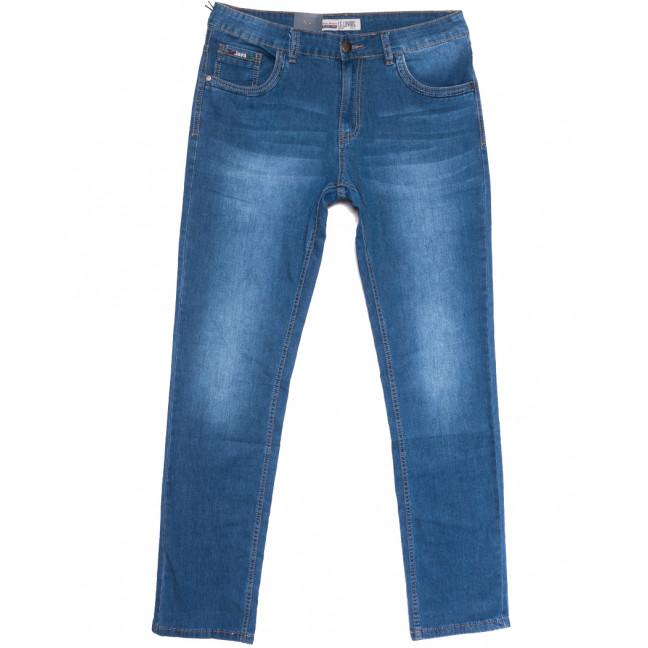 1088 LS джинсы мужские полубатальные синие весенние стрейчевые (32-38, 8 ед.) LS: артикул 1106233
