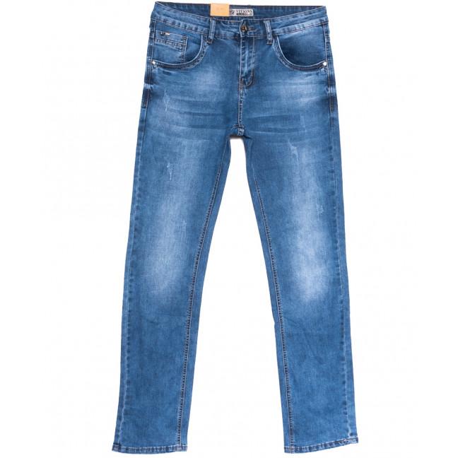 5041 Vitions джинсы мужские с царапками синие весенние стрейчевые (29-38, 8 ед.) Vitions: артикул 1106229