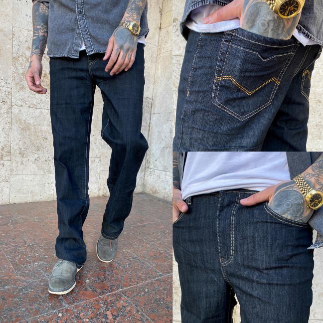 17001 (B) черные норма WVS джинсы мужские черные весенние стрейчевые (30-36, 6 ед.) WVS: артикул 1104830