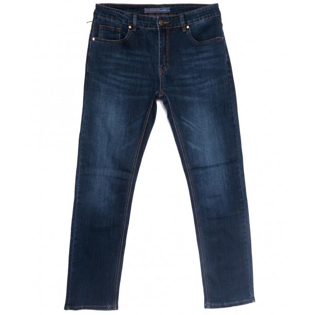 0647-А Likgass джинсы мужские полубатальные синие весенние стрейчевые (32-38, 8 ед.) Likgass: артикул 1106616