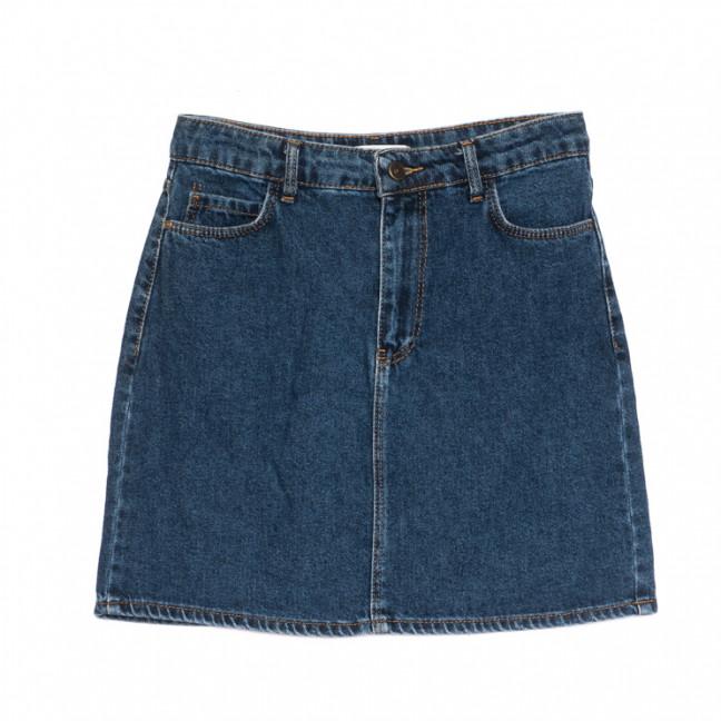 6010-2 Real Focus юбка джинсовая синяя весенняя коттоновая (26-30, 5 ед.) Real Focus: артикул 1106915