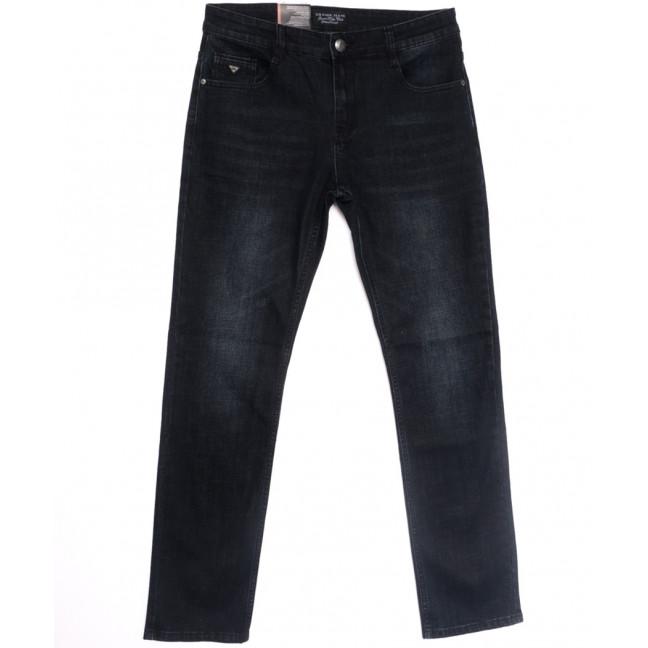 0642-А Likgass джинсы мужские полубатальные черные весенние стрейчевые (32-38, 8 ед.) Likgass: артикул 1106610