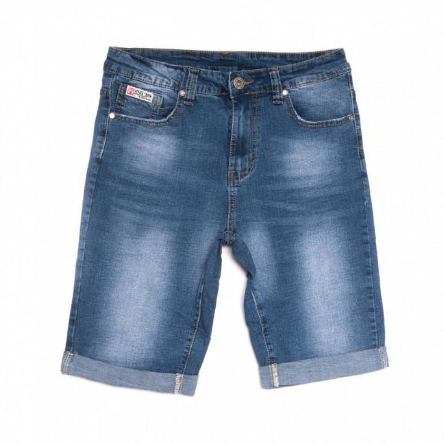 2074 New Jeans шорты джинсовые мужские синие стрейчевые (29-38, 8 ед.) New Jeans: артикул 1107052