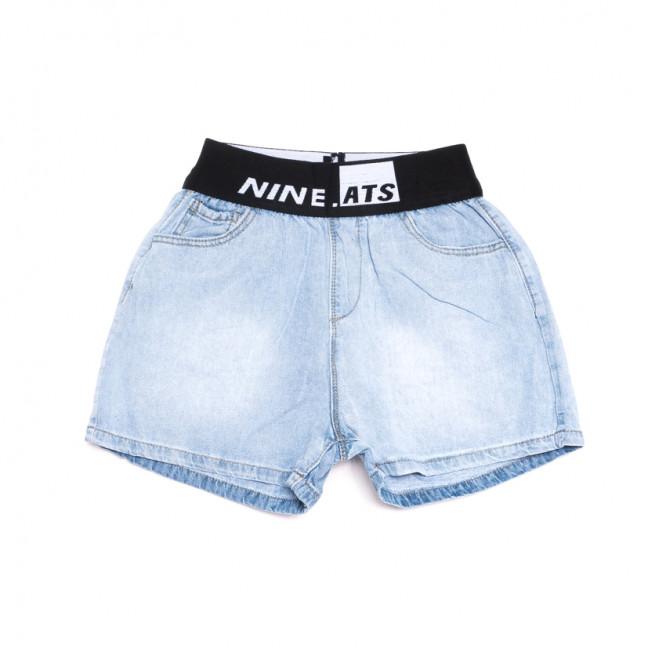 3751 New Jeans шорты джинсовые женские синие коттоновые (25-30, 6 ед.) New Jeans: артикул 1106995