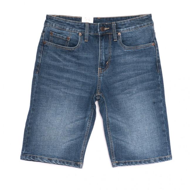 0504 шорты джинсовые мужские синие стрейчевые (29-36, 7 ед.) Brand (Copy): артикул 1106525