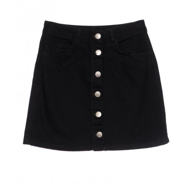 1799 черная Defile юбка джинсовая весенняя коттоновая (34-42,евро, 6 ед.) Defile: артикул 1107124