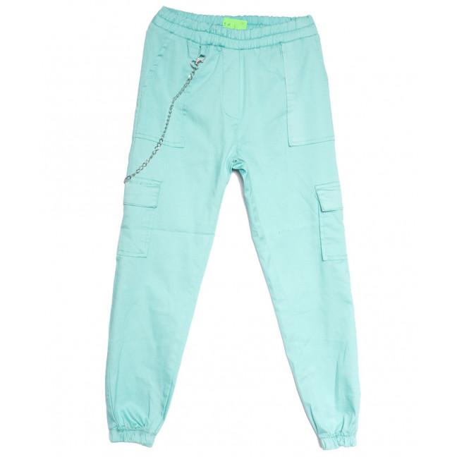 1790 голубые Defile брюки карго женские весенние стрейчевые (S-XL, 4 ед.) Defile: артикул 1107105
