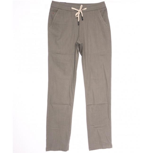 7008 Vitions брюки мужские бежевые летние стрейчевые (30-38, 8 ед.) Vitions: артикул 1106356