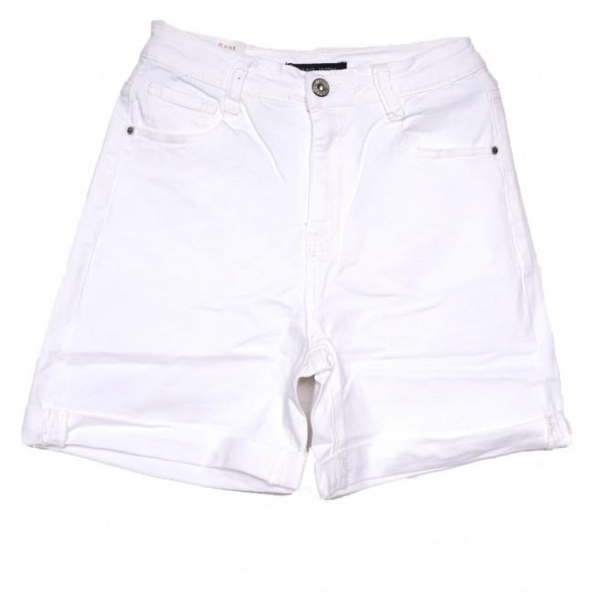 9058-2 белые Saint Wish шорты джинсовые женские стрейчевые (25-30, 6 ед.) Saint Wish: артикул 1108115