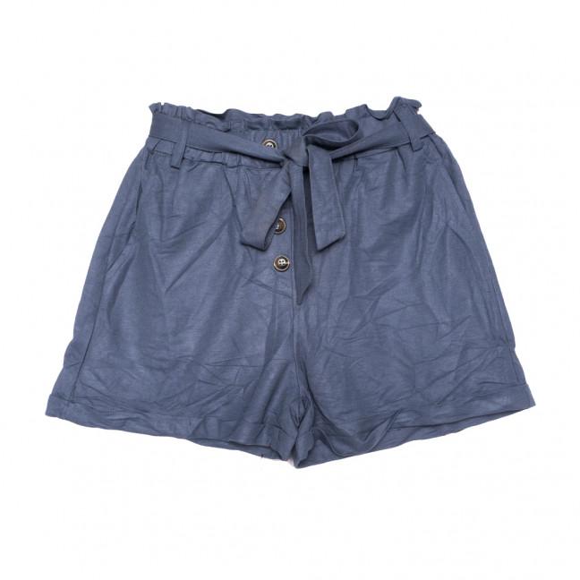 2350 темно-синие Saint Wish шорты женские коттоновые (S-2XL, 5 ед.) Saint Wish: артикул 1108149