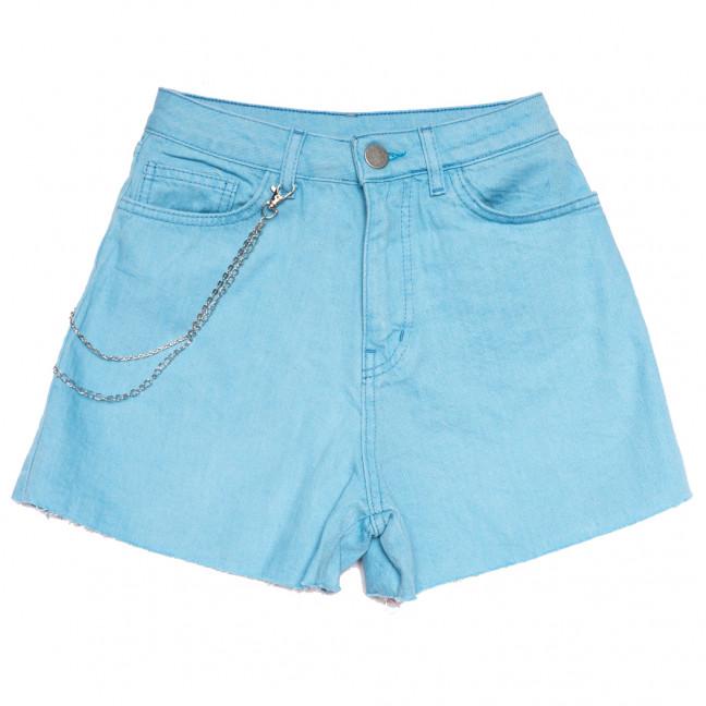 0360 Defile шорты джинсовые женские голубые коттоновые (XS-M, 4 ед.) YMR: артикул 1108286