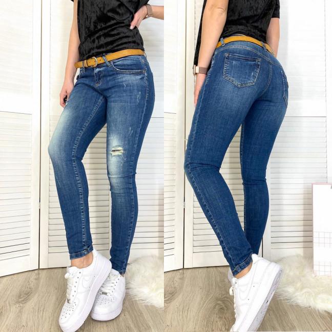9310-566 Colibri (25-30, 6 ед.) джинсы женские синие весенние стрейчевые Colibri: артикул 1076111