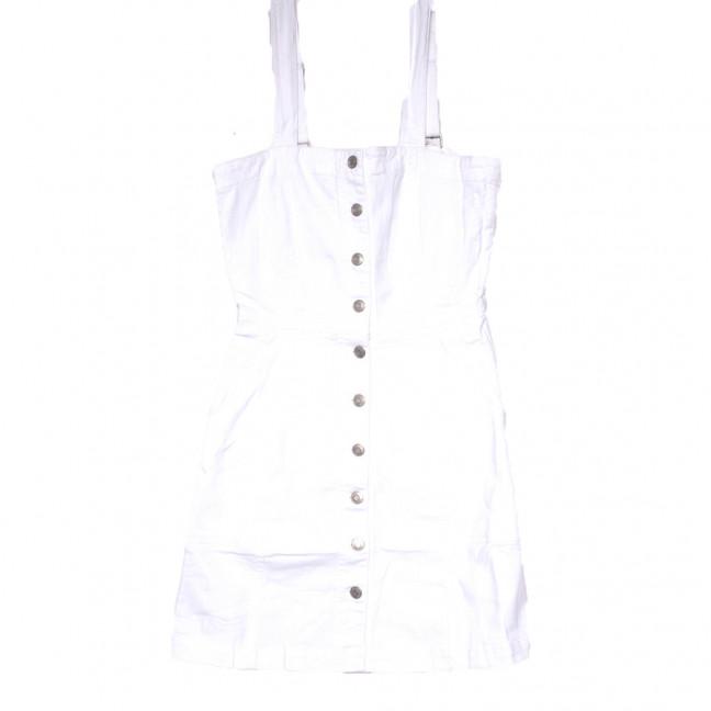 9125-2 белый Saint Wish сарафан джинсовый летний стрейчевый (ХS-XL, 5 ед.) Saint Wish: артикул 1108205