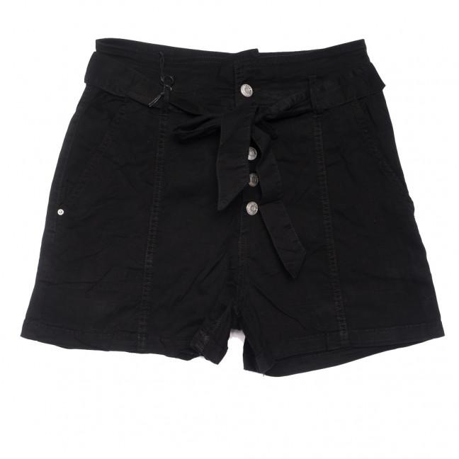 9070-1 черные Saint Wish шорты джинсовые женские стрейчевые (XS-XL, 5 ед.) Saint Wish: артикул 1108097