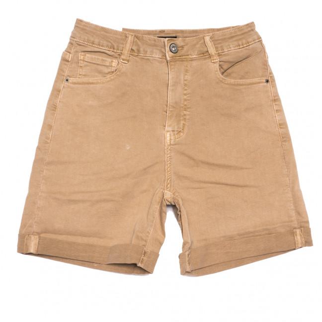 9058-7 коричневые Saint Wish шорты джинсовые женские стрейчевые (XS-XL, 5 ед.) Saint Wish: артикул 1108094