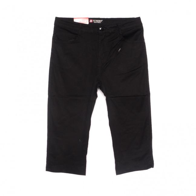 9925 черные Sunbird шорты джинсовые женские батальные стрейчевые (30-36, 6 ед.) Sunbird: артикул 1107926