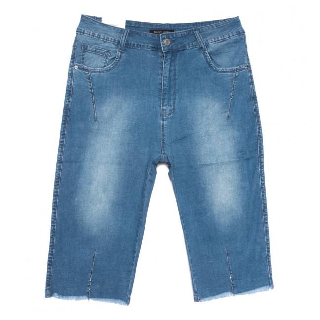 9016 Saint Wish шорты джинсовые женские батальные синие стрейчевые (31-38, 6 ед.) Saint Wish: артикул 1108112