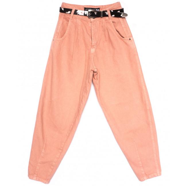 0829 Sherocco джинсы-баллон пудра весенние коттоновые (25-30, 6 ед.) SheRocco: артикул 1107977