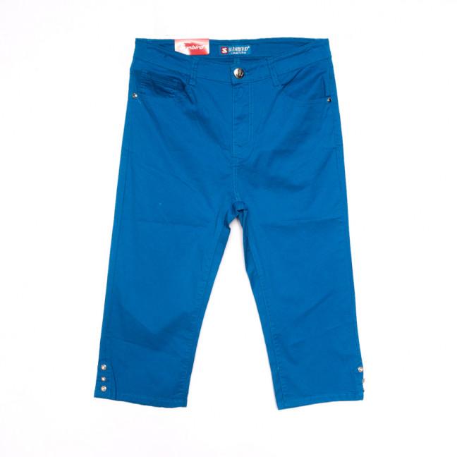 9926 синие Sunbird шорты джинсовые женские батальные стрейчевые (31-42, 6 ед.) Sunbird: артикул 1107915