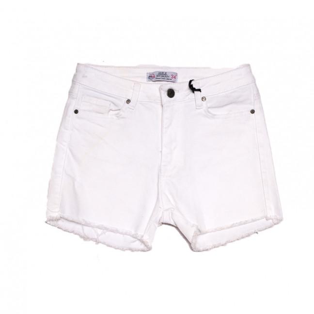 2014 Miele шорты джинсовые женские белые стрейчевые (34-40,евро, 5 ед.) Miele: артикул 1107906