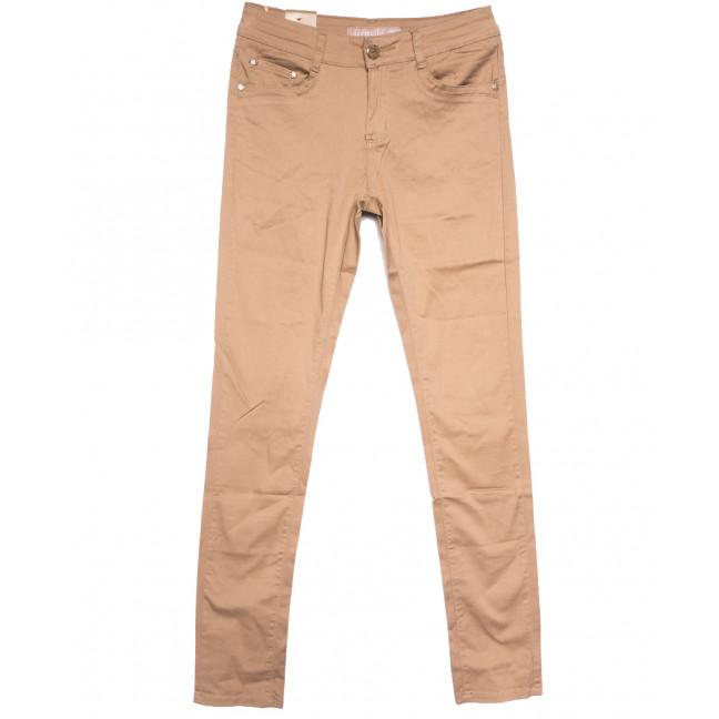 1599 Gemello джинсы женские бежевые весенние стрейчевые (26-31, 6 ед.) Gemello: артикул 1107920